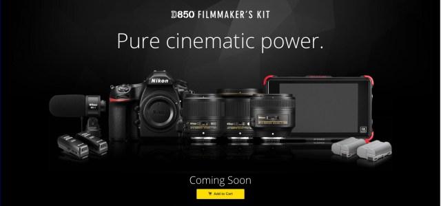 Nikon announces D850 Filmmaker's Kit