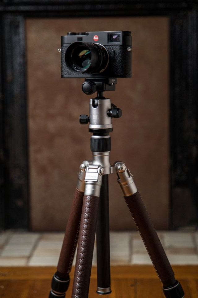 MeFOTO adds Italian leather to its bestselling RoadTrip Classic tripod