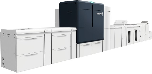 Xerox launches Iridesse four-color production press with specialty inks