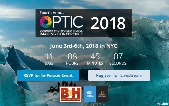 B&H Photo presents OPTIC 2018 Travel, Outdoor & Wildlife Photography
