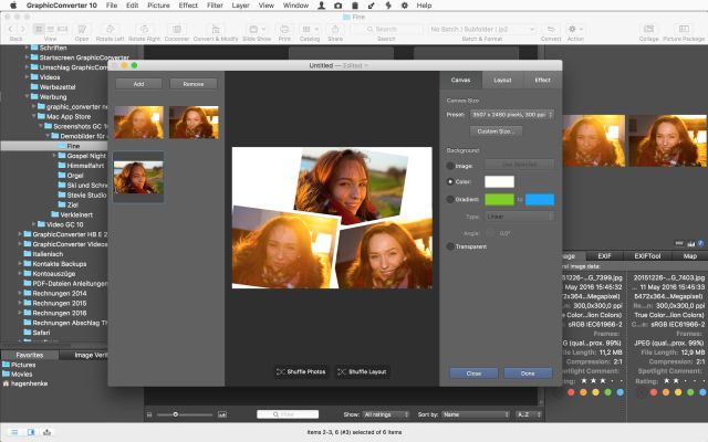 GraphicConverter 10.6.1 adds batch features