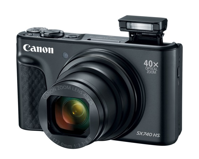 Long zoom in a small package: Canon introduces PowerShot SX740 HS digital camera