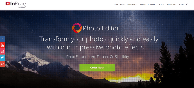 InPixio Photo Editor 8 adds powerful tools