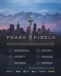 Vanguard announces Peaks and Pixels Photo Gear and Trip Giveaway