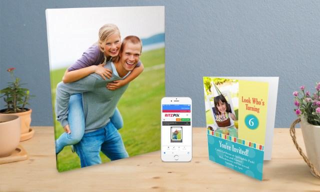 RitzPix announces mobile photo printing app