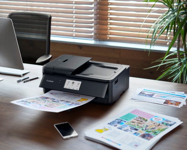 Canon introduces home office printers and scanners
