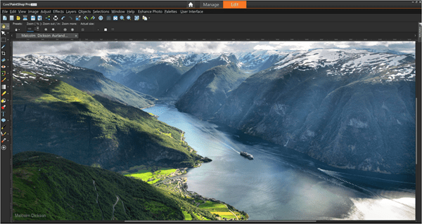 Corel introduces PaintShop Pro 2019, with Pic-to-Painting and 360 image editing