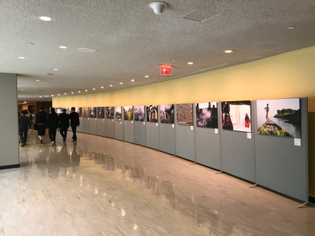 Photo exhibition debuts at the UN General Assembly and at Photokina