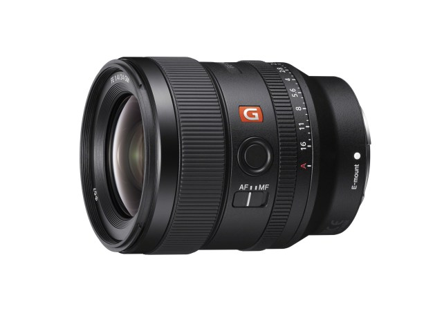 Sony expands full-frame lens lineup with launch of 24mm F1.4 G Master™ Prime