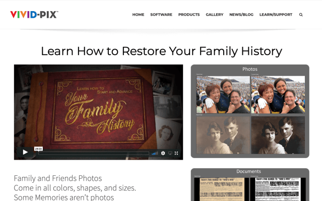 Vivid-Pix announces Family History Month resources