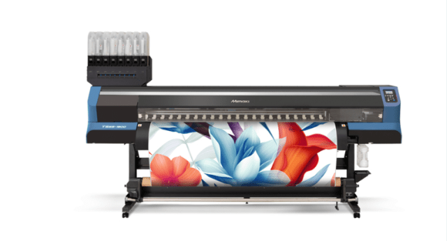Mimaki USA announces the TS55-1800 Dye-Sublimation Transfer Inkjet Printer