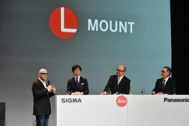 The L-Mount consortium is introduced at photokina.