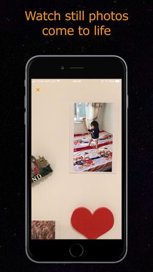 New iPhone animates printed photos with augmented reality
