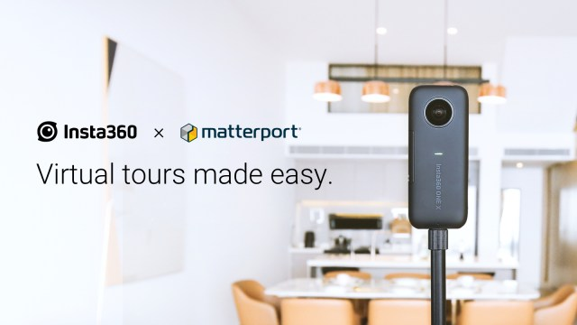 Insta360 partners with Matterport to reinvent virtual tour production