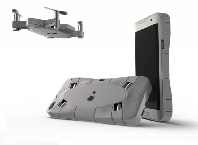 AEE SELFLY smart flying phone case camera now shipping