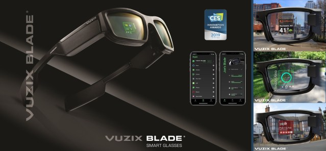 Vuzix launches consumer version of the Blade Augmented Reality smart glasses