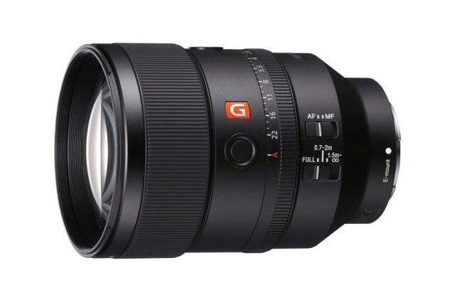 Sony announces full-frame 135mm F1.8 G Master Prime Lens