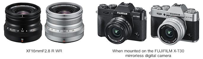 Fujifilm releases Fujinon Lens XF16mm F2 8 R WR – The Dead Pixels