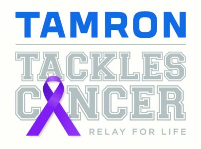 Tamron participating in the American Cancer Society's Relay for Life 2019