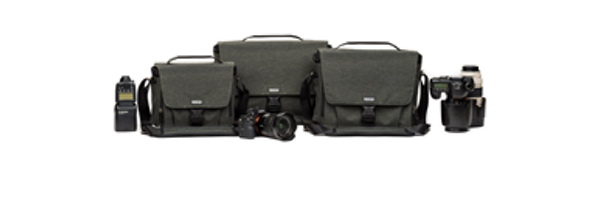 "Think Tank Photo's new ""Vision"" shoulder bag series blends form with function"