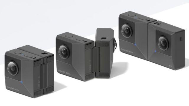 Insta360 debuts folding stereoscopic 3D, 360-degree camera