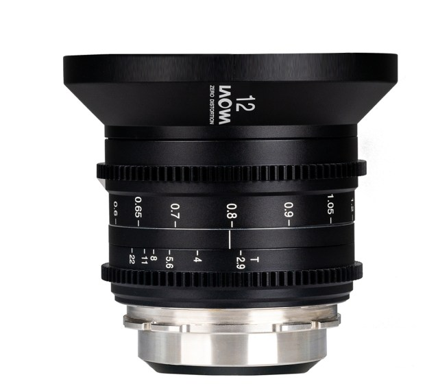 Laowa two debut two lenses at NAB: 25-100 t/2.9 and 12mm  t/2.9 Zero-D