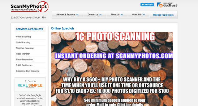 ScanMyPhotos scores with penny-per-scan promo
