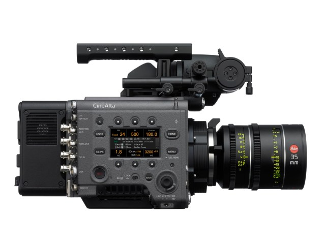 Sony's VENICE continues to evolve with high-frame-rate up to 90 frames per second at 6K