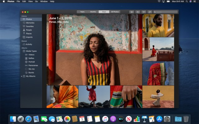 Apple adds smart photo selection to new MacOS Catalina