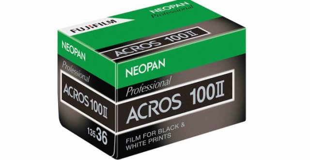 Fujifilm announces return of black-and-white film with NEOPAN 100 ACROS II