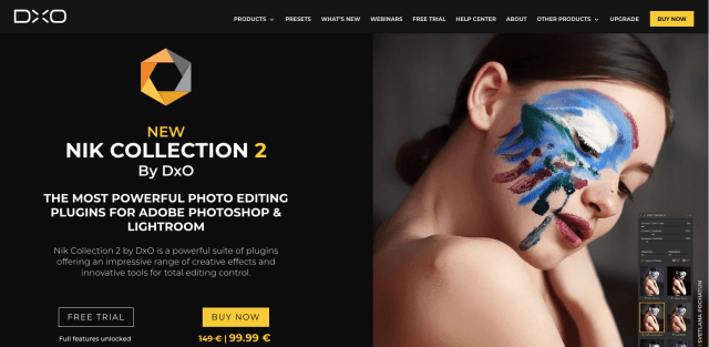 Nik Collection 2 by DxO offers creative possibilities, RAW File compatibility
