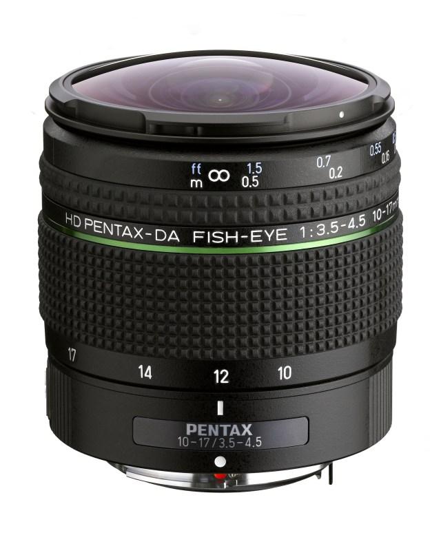 Ricoh redesigns fish-eye zoom lens for K-mount DSLRs