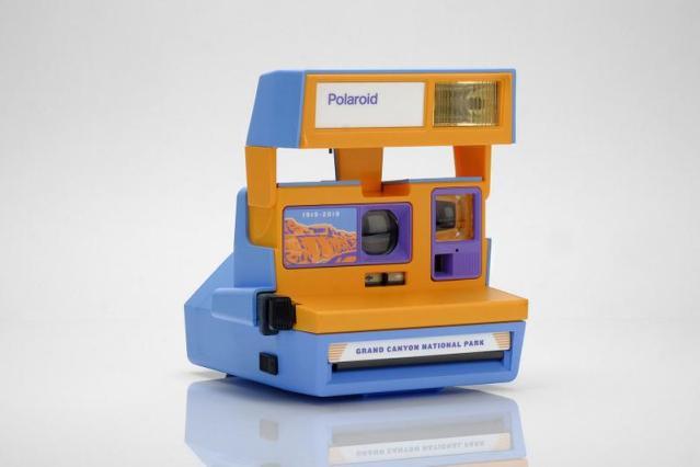 Parks Project, Retrospekt release limited-edition Polaroid camera