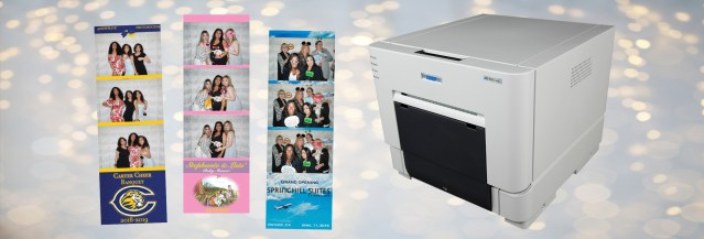 RBA Photobooths offers customers DNP printers in photo booth packages
