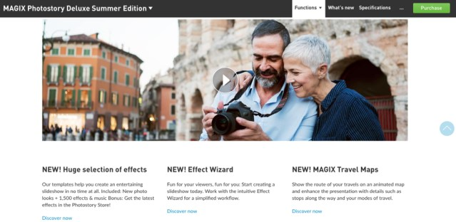 MAGIX Photostory now up to 3x faster and with more creative possibilities for custom slideshows