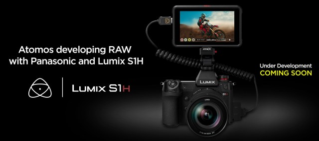 Atomos, Panasonic announce 35mm full-frame RAW video over HDMI from Lumix S1H to Ninja V