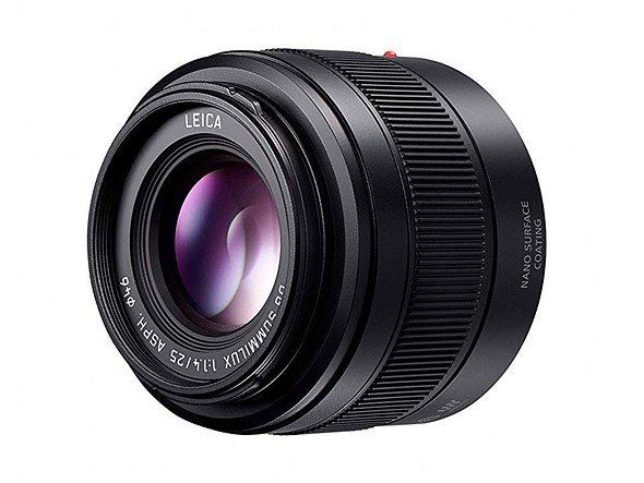 Panasonic launches renewed LEICA DG 25mm fixed-focal length lens