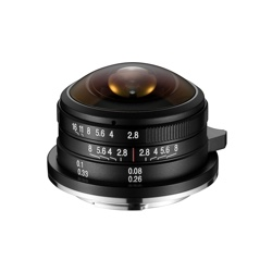 Venus Optics announces pricing and availability of Laowa 4mm f/2.8 Circular Fisheye