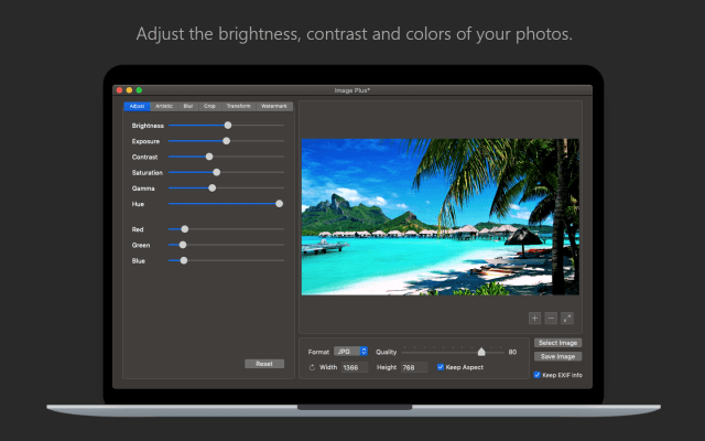 64BitApps releases Image Plus v.1.3 for macOS