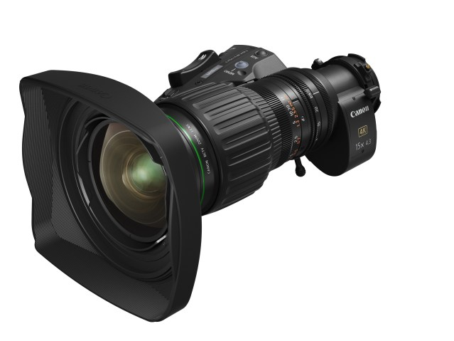 Canon announces wide-angle portable zoom lens designed for 4K Broadcast Cameras