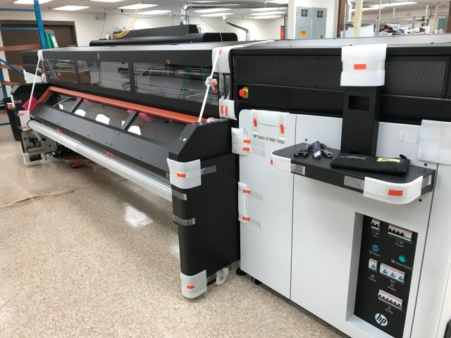 ACI installs HP Stitch S1000 126-inch sublimation printer