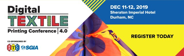 AATCC, SGIA announce presentations and speakers for the Digital Textile Printing Conference 4.0