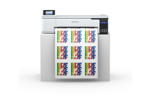Epson introduces new production printers for graphics
