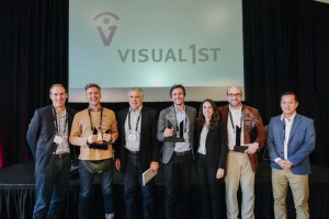 Visual 1st 2019 Awards winners and judges
