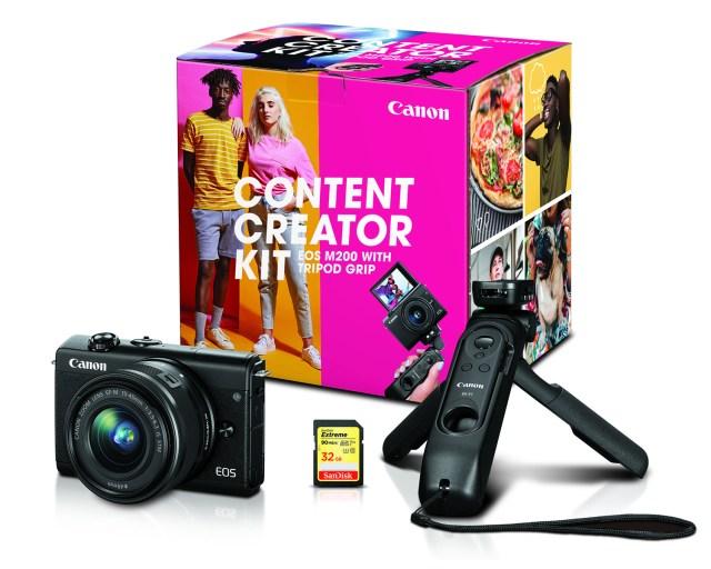 Canon debuts Content Creator Kits