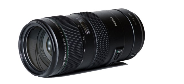 Ricoh announces the HD PENTAX-D FA 70-210mmF4ED SDM WR zoom lens