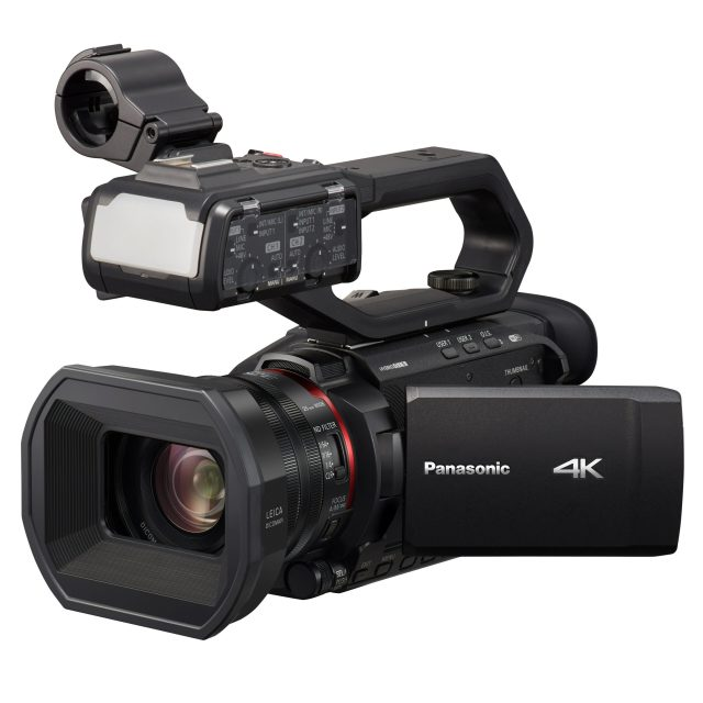 Panasonic announces three small and light 4K 60p camcorders