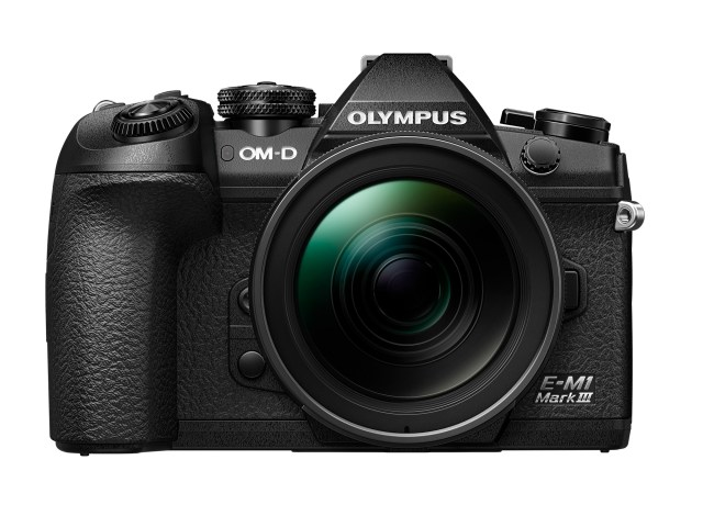 Olympus debuts OM-D E-M1 Mark III, mid-range zoom, and PEN E-PL10 digital camera