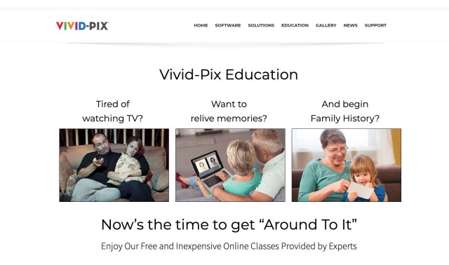 Vivid-Pix announces free online education
