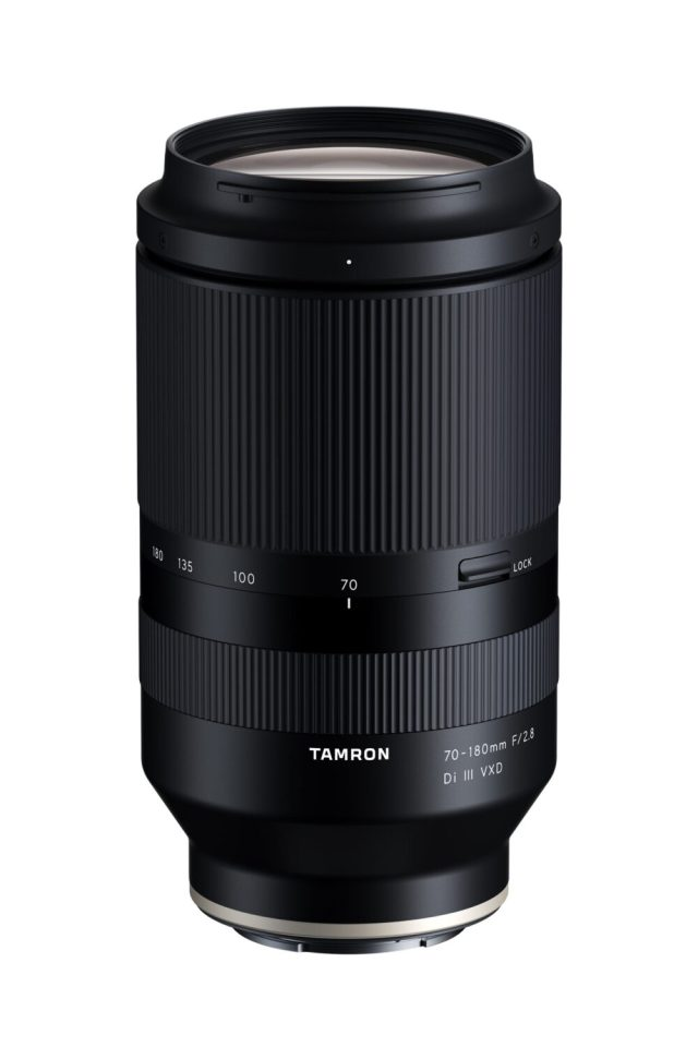 Tamron adds series of fast 70-180mm F/2.8 Di III VXD zoom lenses for Sony bodies